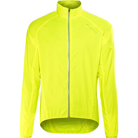 Endura Pakajak II Windproof Jacket Herre hi-viz yellow